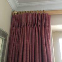 door curtain after