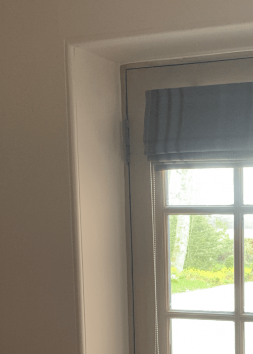 door curtain before