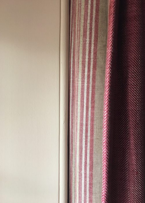 double sided door curtain