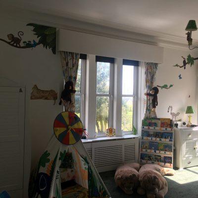 jungle room finished